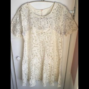 Free People Lace Dress NWTS